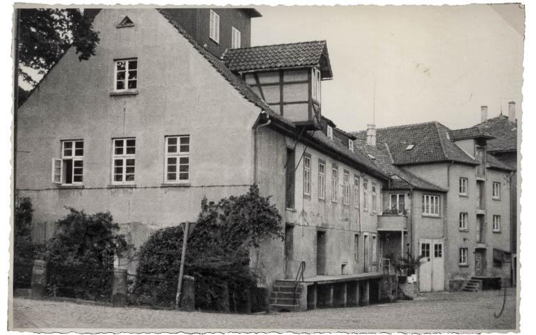Historische Mühle 1951