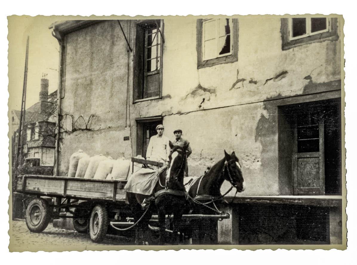 Historische Mühle ca. 1940